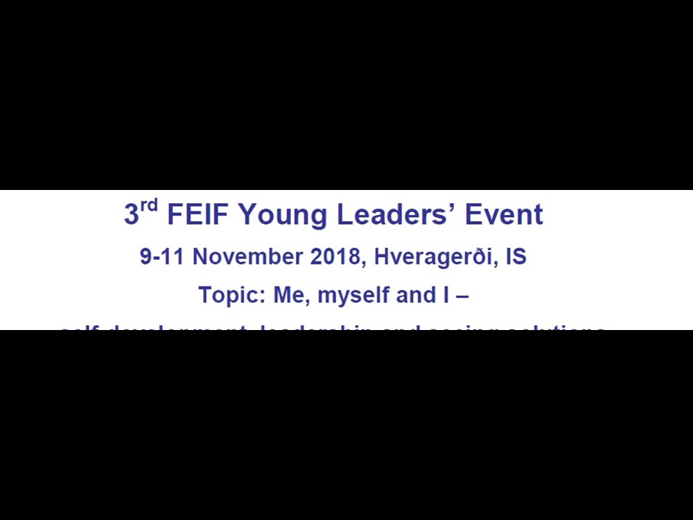 FEIF Young Leaders Event