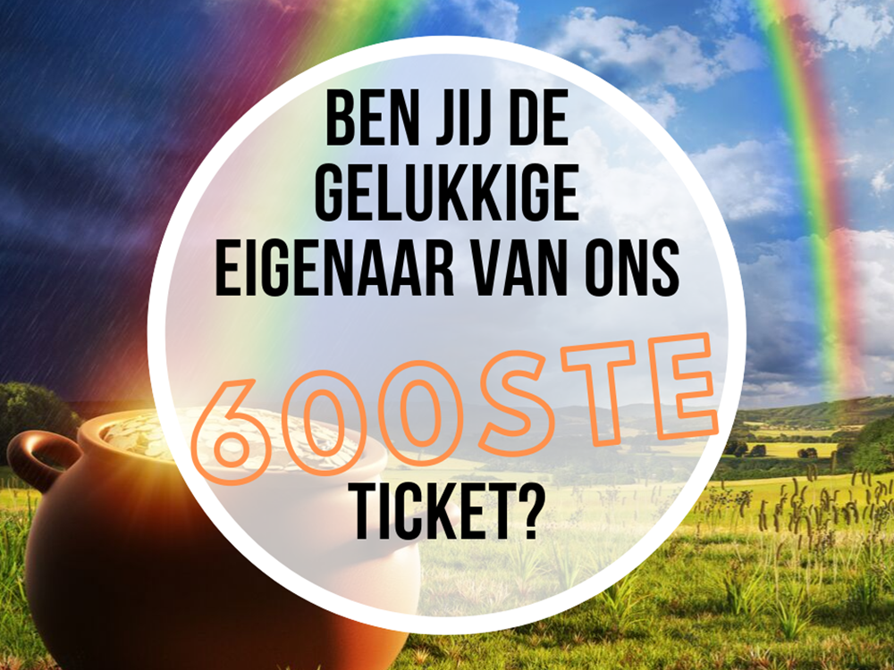 Verrassing in de ticketsale